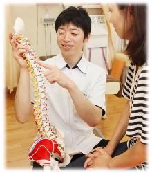小松市のおれんじ鍼灸接骨院:カウンセリング