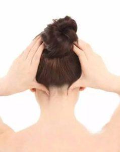 風池:緊張性頭痛・片頭痛